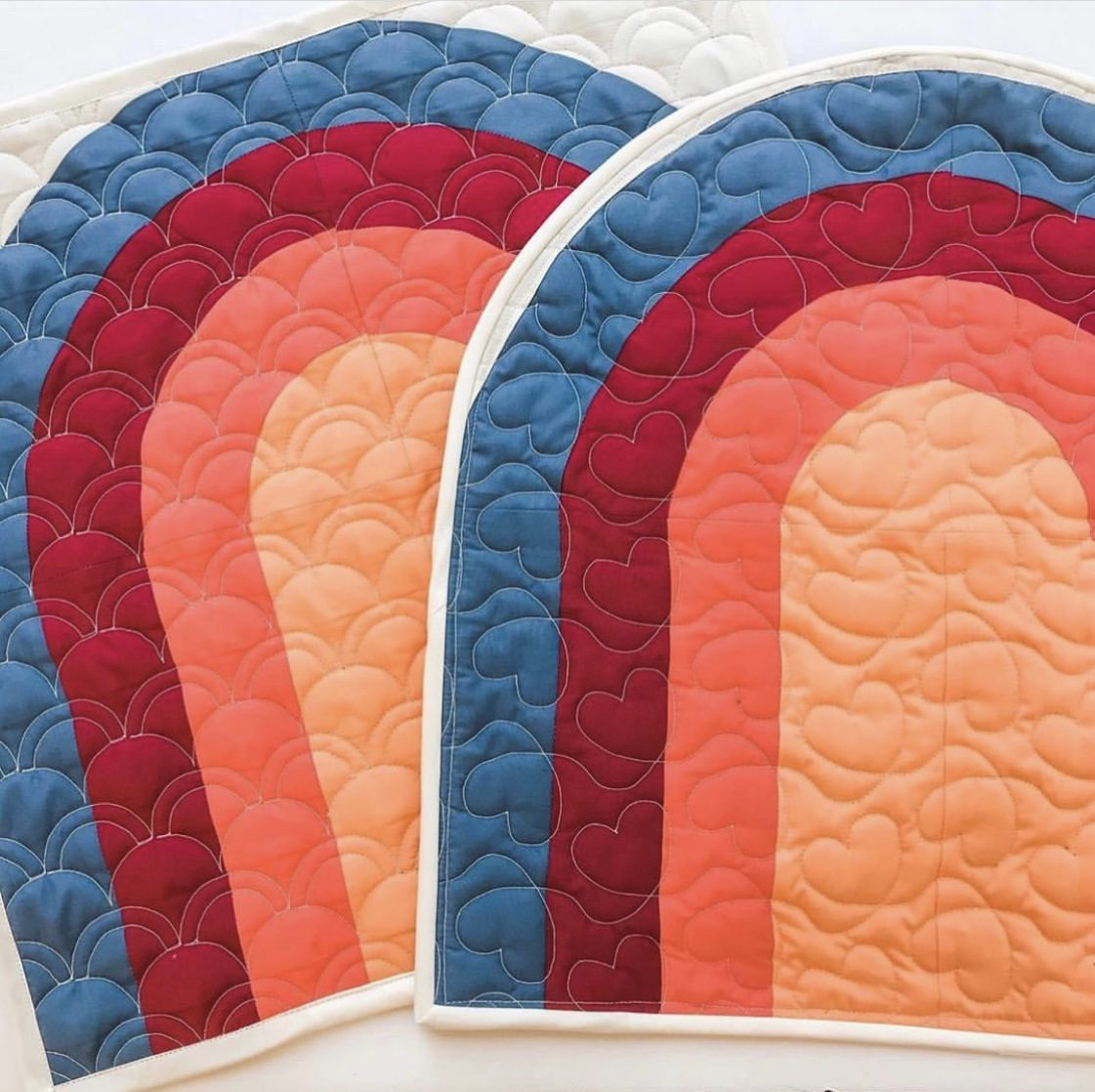 After The Rain Mini Quilt made for Quilters Candy Membership