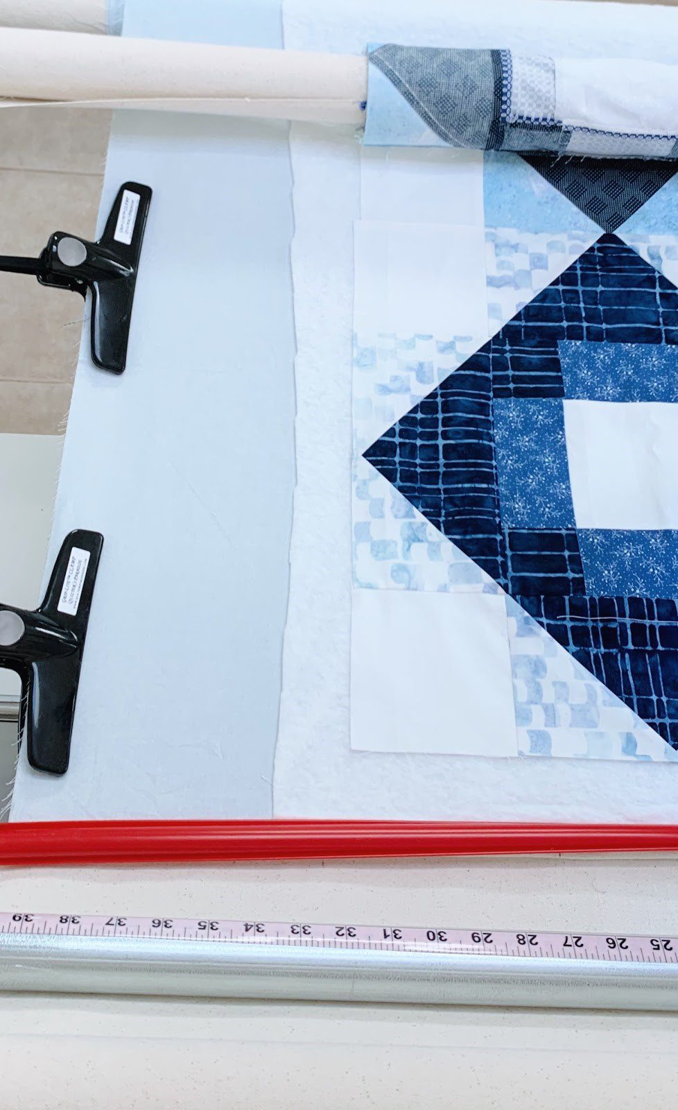 Finishing a quilt that is Longarm Quilted