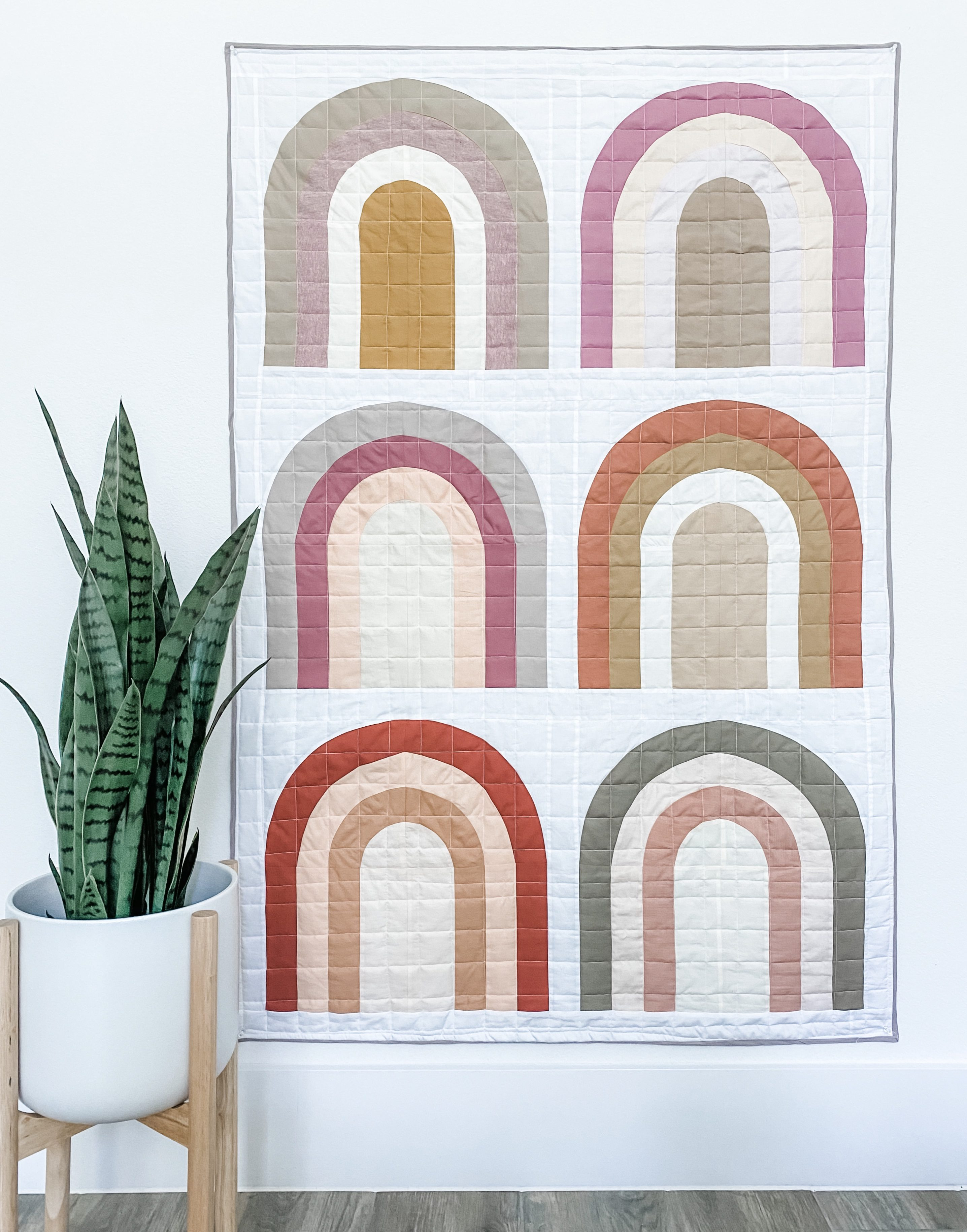 After The Rain Quilt Inspiration with Bias Binding