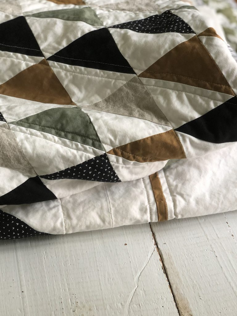 Better Together Half Square Triangle Beginner Quilt