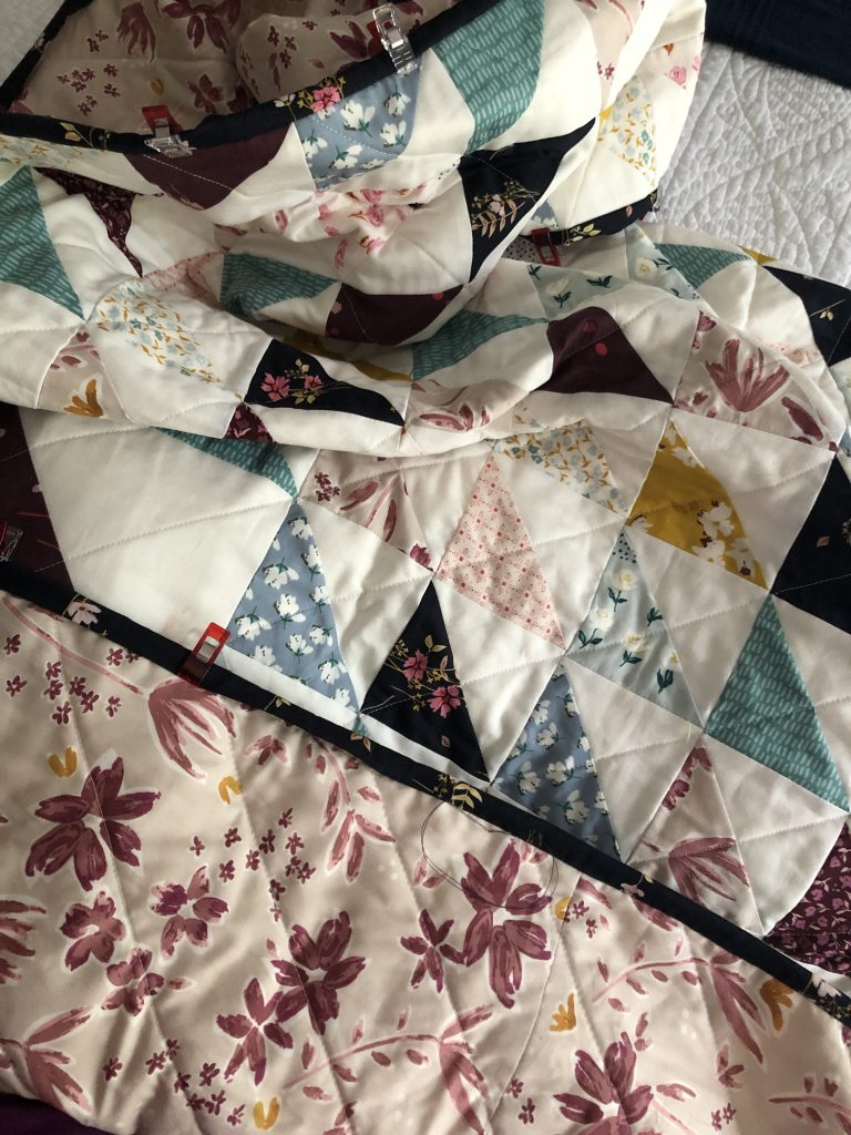Better Together Half Square Triangle Quilt for Beginners