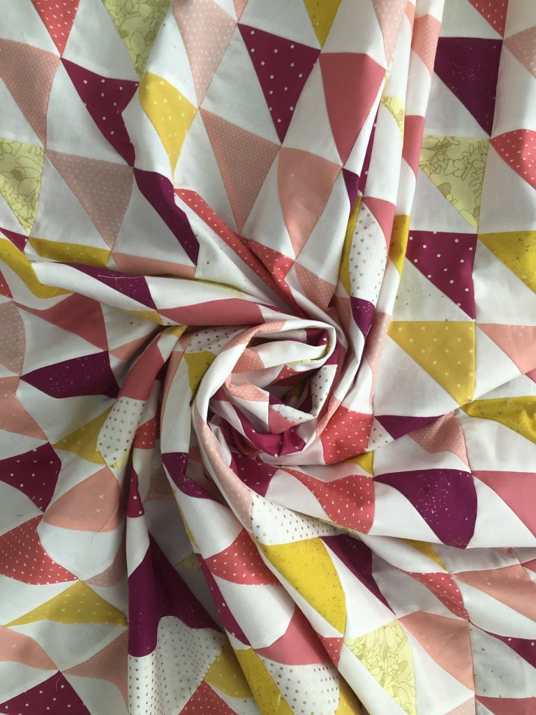 Half Square Triangle Quilt Better Together