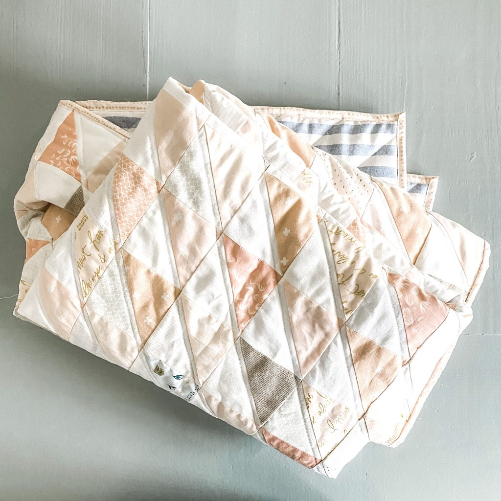 Better Together Half Square Triangle Quilt