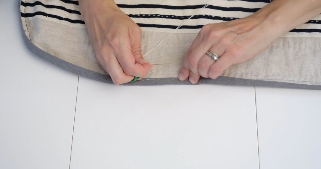 Hand Quilting your Quilt Binding