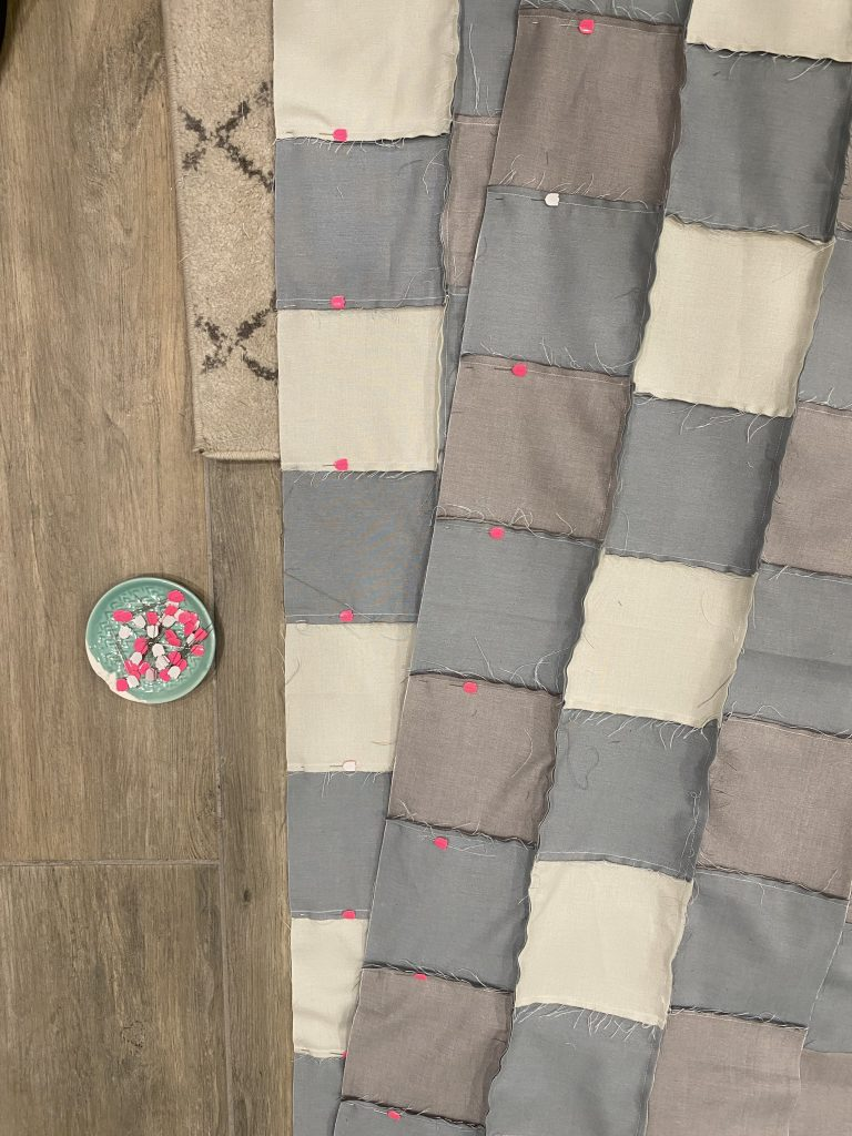 Finishing Your Gingham Quilt Top - Free pattern and tutorial