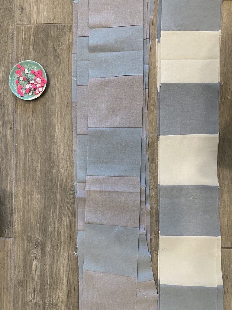 Steps to making a Gingham Quilt