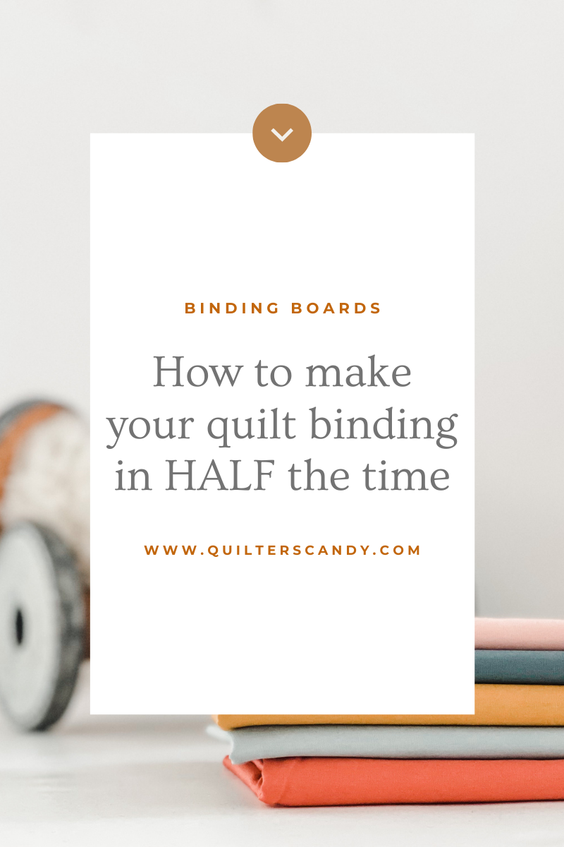 Make Quilt Binding Quickly and Easily