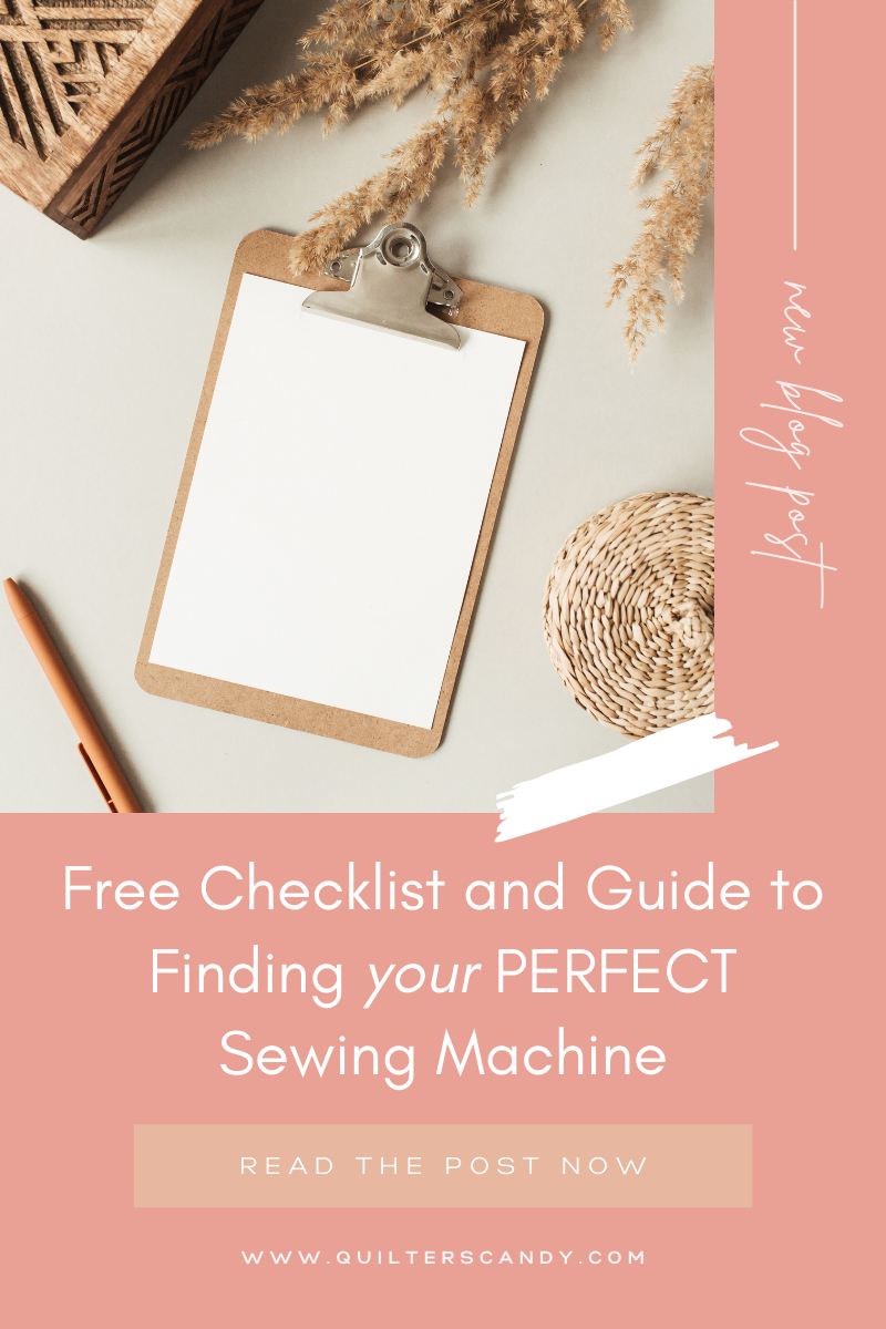 What is the perfect sewing machine for you?