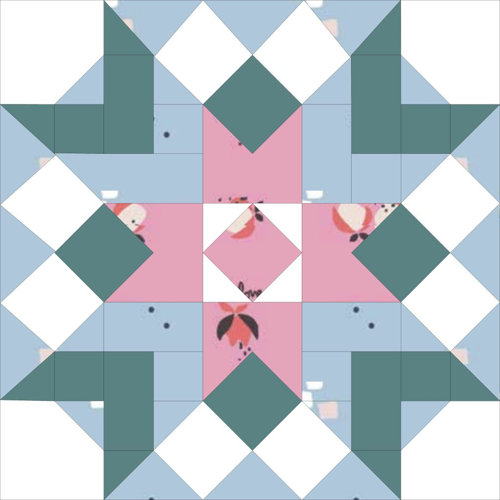 Day Dreamer Quilt Block by Quilters Candy