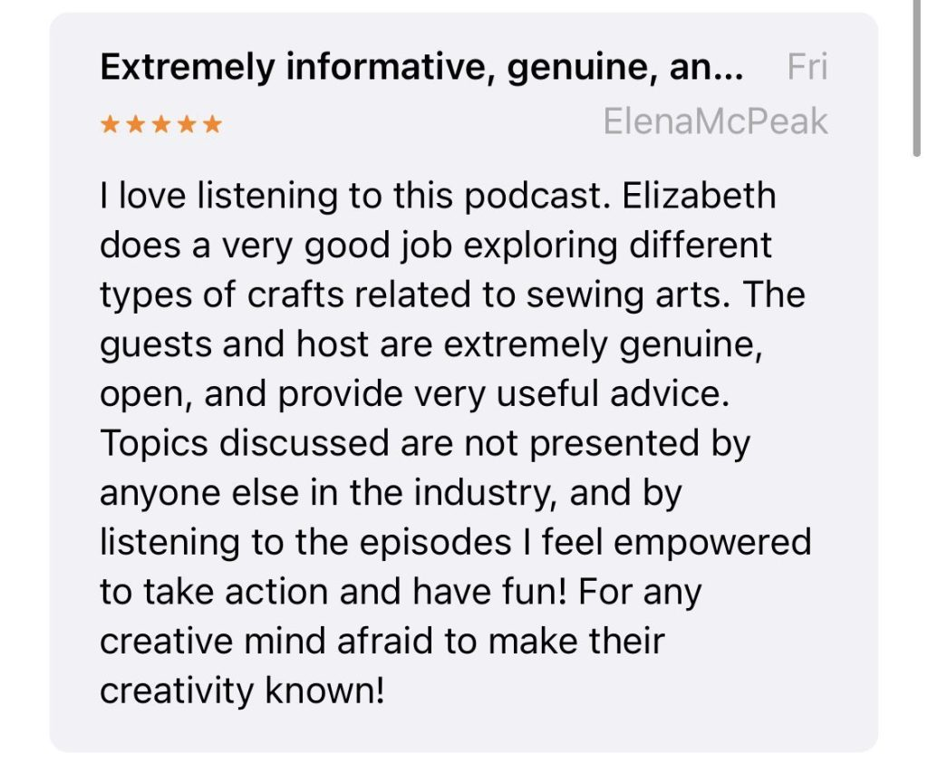 Craft to Career Podcast Review