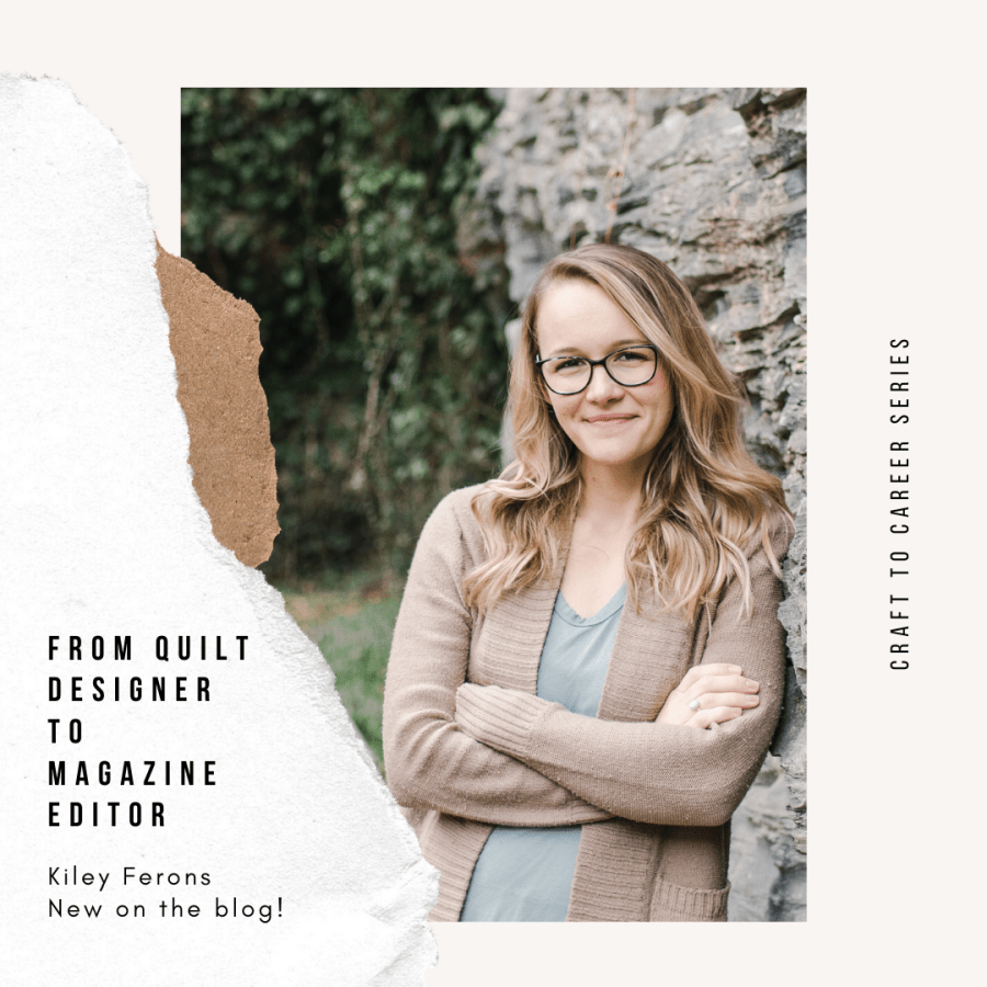 Kiley Ferons of Modish Quilt Magazine