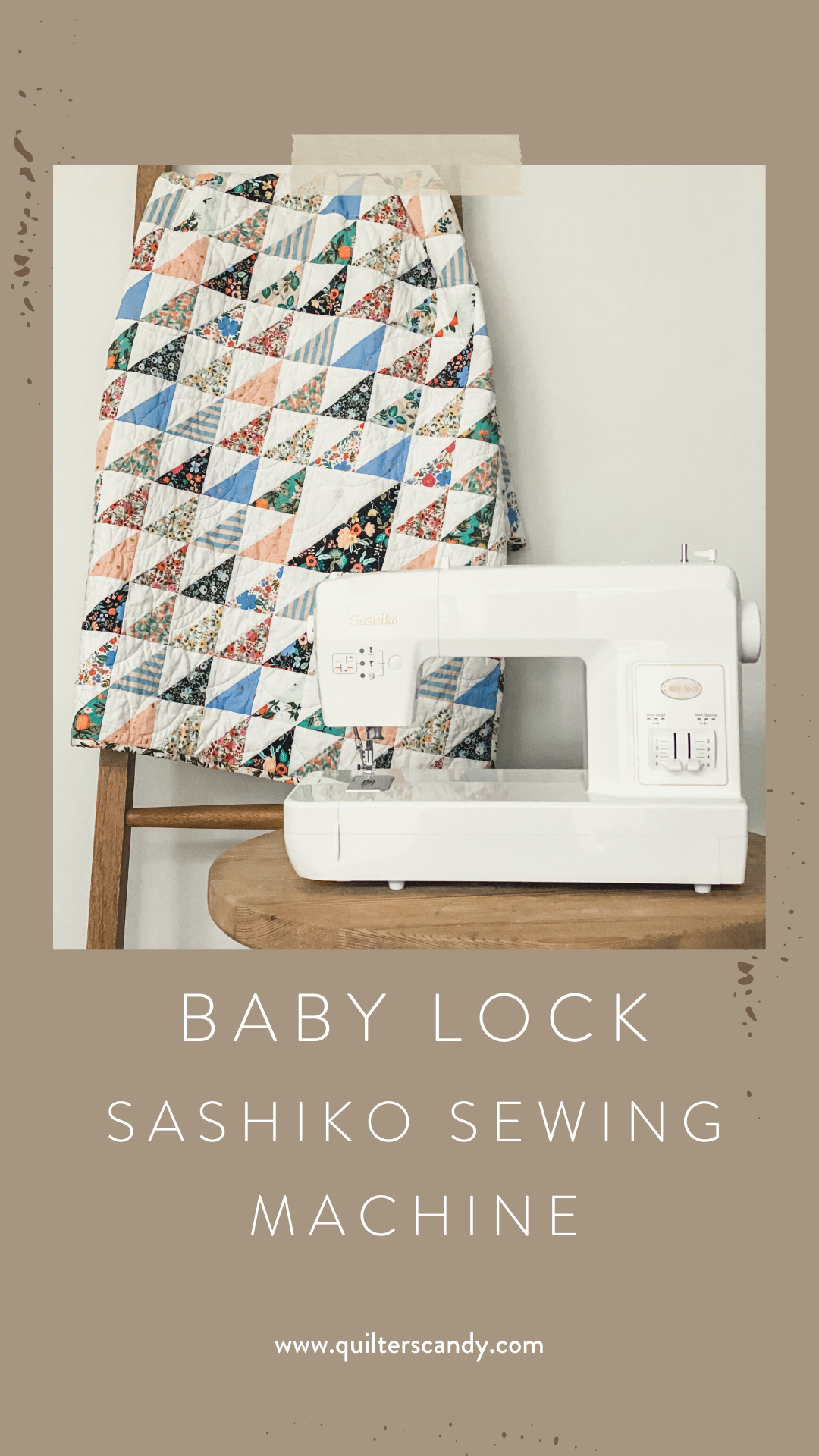 Quilters Candy shares the Baby Lock Sashiko Sewing Machine