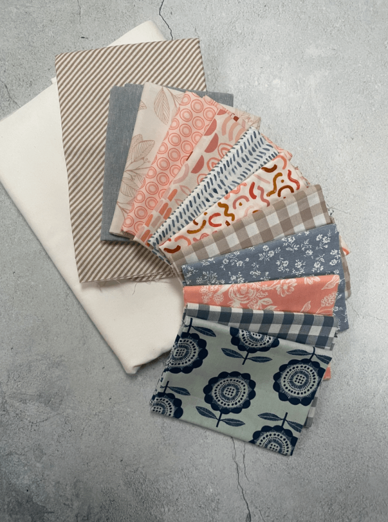 make a Better Together Quilt with a curated bundle of fabric for Quilters Candy