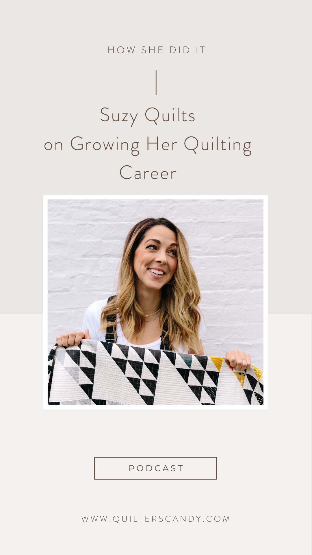 Craft to Career Podcast with Suzy Quilts