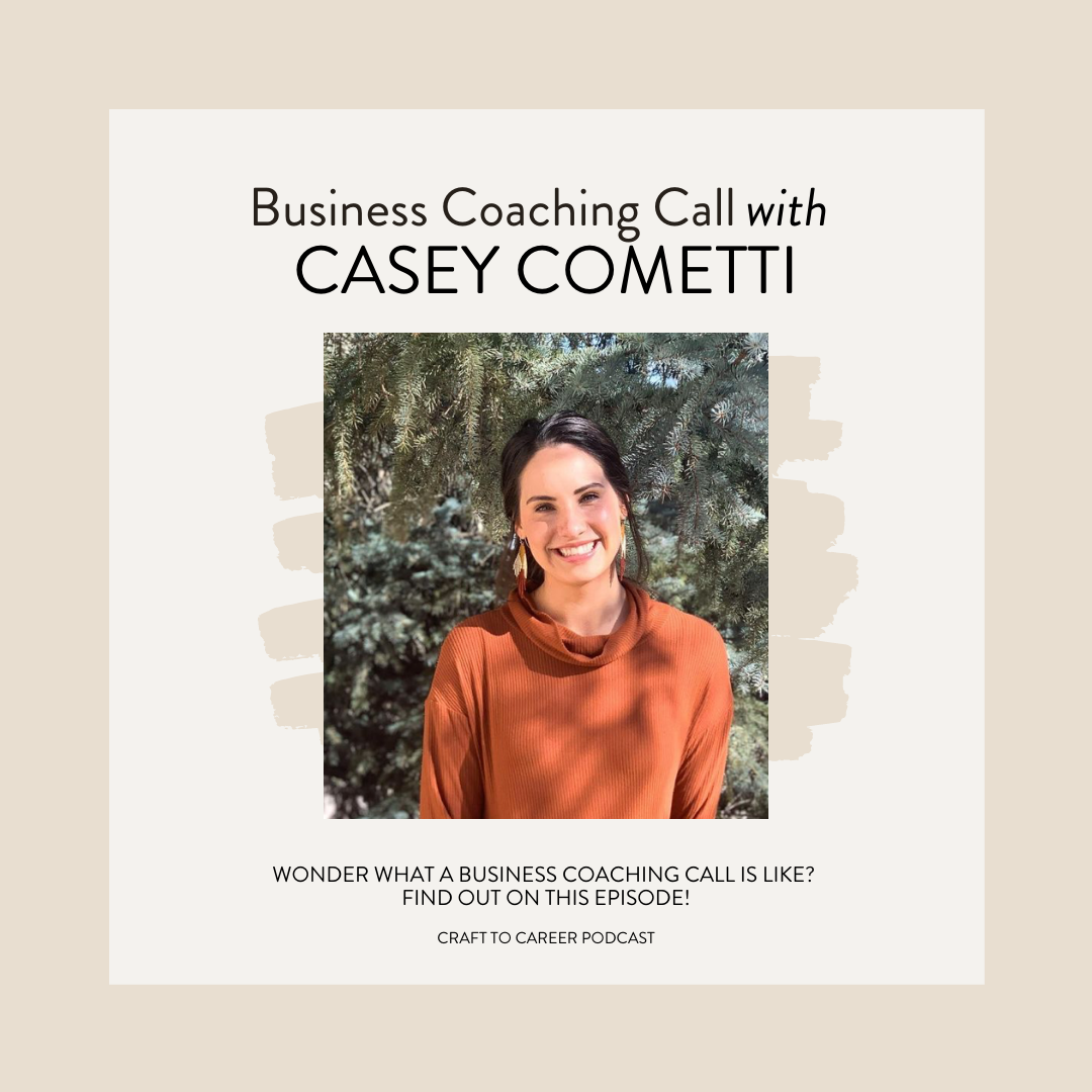 Casey Cometti Craft to Career Podcast