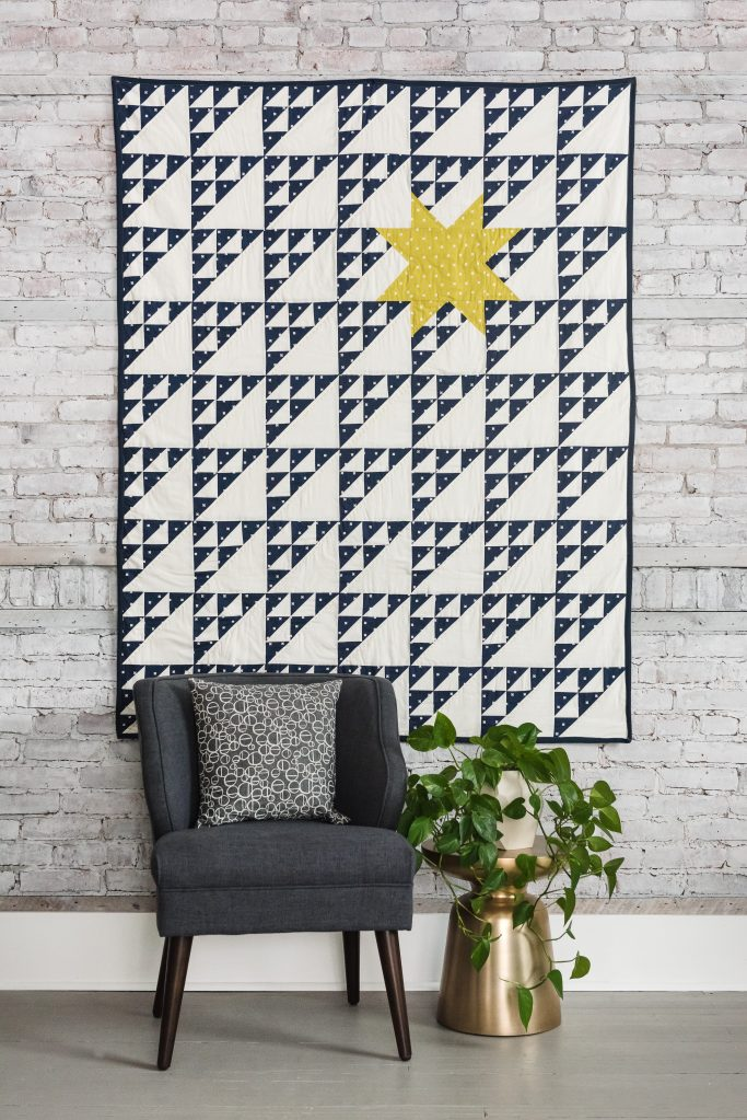 Northern Star Quilt by Quilters Candy